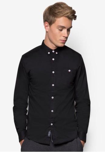 素色長袖襯衫, 服飾esprit outlet hk, 襯衫