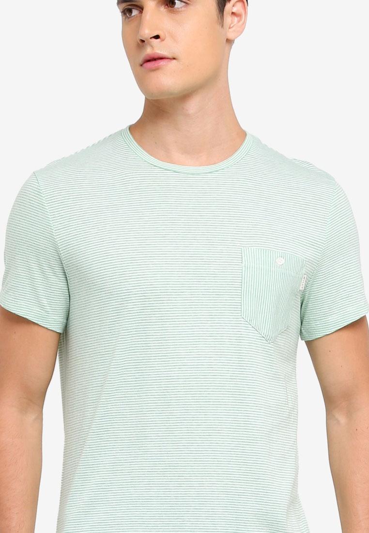Stripe T Shirt Green Jack Wills Barnhill w0q1Aw