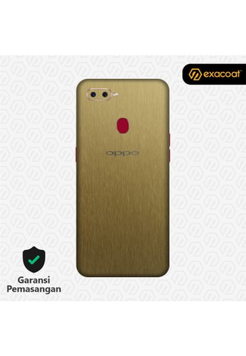 Exacoat Oppo F9 3M Skins Titanium Gold - Cut Only 4D25AES0B78AE9GS_1