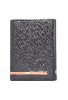Men's Black Genuine Leather Wallet