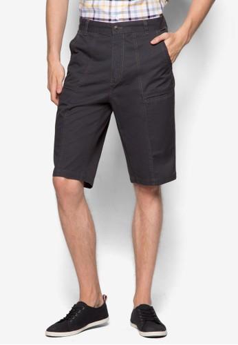 多口袋esprit hk outlet工作短褲, 服飾, 短褲