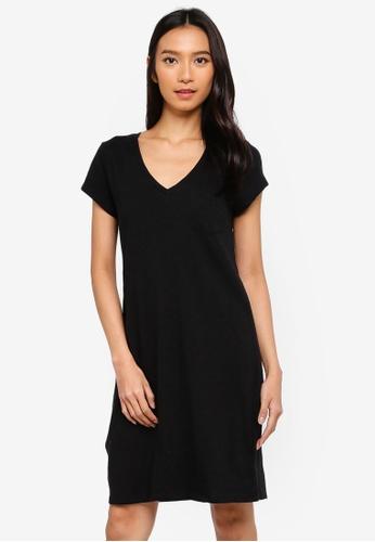 1ab289139e5e3 Buy GAP Pocket SL T-Shirt Dress Online on ZALORA Singapore
