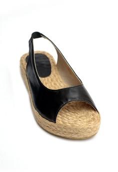 Phira Peep-toe Espadrille Wedge Sandals