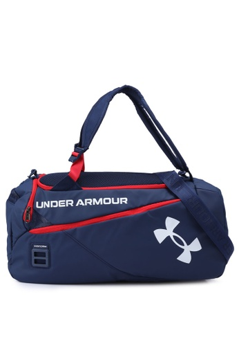 Under Armour navy Contain Duo Small Duffle Bag C4401AC5405453GS_1
