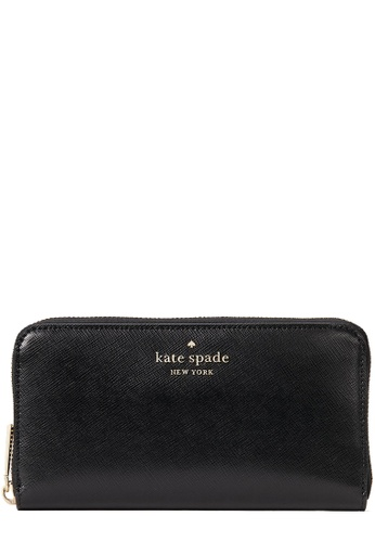 Kate Spade black Kate Spade Staci Large Continental Wallet in Black 4D02DAC5842046GS_1