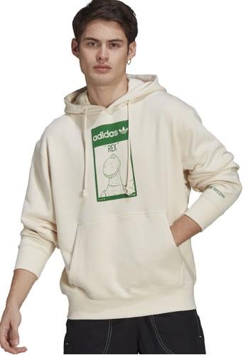 ADIDAS white unisex disney hoodie B6F0BAA7C0BDB0GS_1