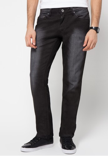 Watchout! Jeans Straight Relax Jeans Pants 691