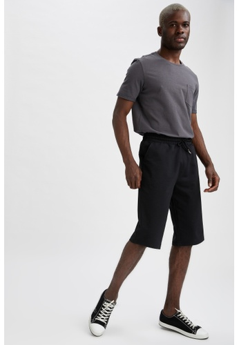 DeFacto black Regular Fit Roller Short A5DC4AABE5C3F8GS_1