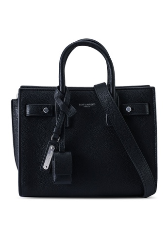 SAINT LAURENT black Sac De Jour Soft Bag (zt) 1370AAC8C3247BGS_1