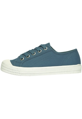paperplanes Paperplanes-1350 Casual Low Top Flats Canvas Sneakers Shoes US Women Size PA110SH57ZYGHK_1