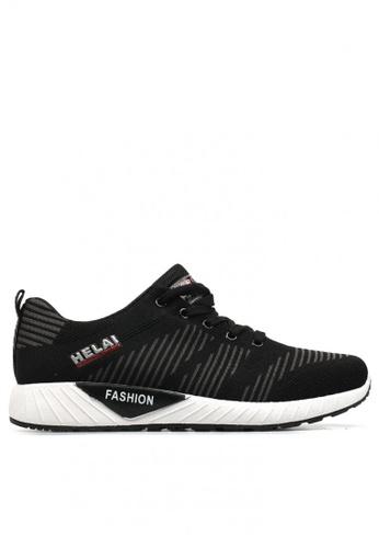 New York Sneakers black Benjy S1 Men's Rubber Shoes 2ADD3SH405E0F7GS_1