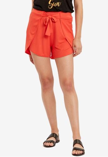 LC Waikiki orange Elastic Waist Shorts 223C1AA51F1D0EGS_1