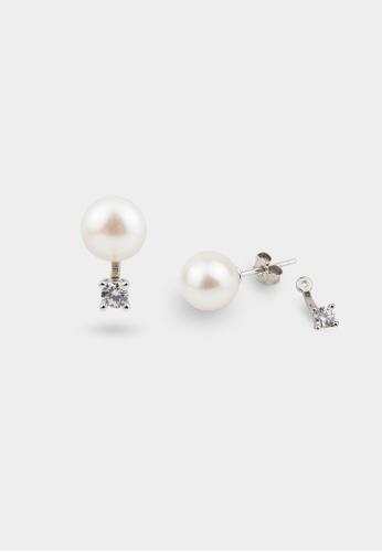 monojewelry NOVA TWO-WAYS PEARL EARRINGS 28493AC0104179GS_1