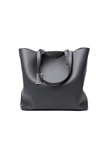 Lara grey Square Shape Shopper bag for Women AD0BDACC44CFDAGS_1