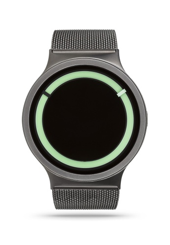 ZIIIRO black and grey and green Eclipse Steel Gunmetal Mint Watch 11F8DACB6BA15EGS_1