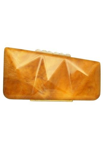 72 SMALLDIVE orange 72 Smalldive Womens Minaudiere Clutch in Alabaster Motif 353A4AC4C1E29DGS_1