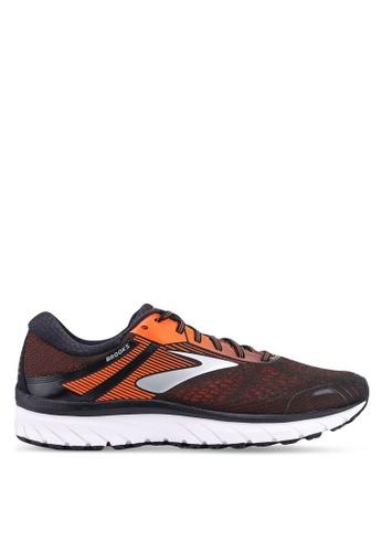 Brooks black Men?s Adrenaline GTS 18 Shoes A8D28SH6039AEEGS_1