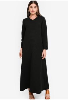 cb69e209fca ZALIA BASICS Basic V-Neck Dress RM 87.00. Sizes XS S M L XL