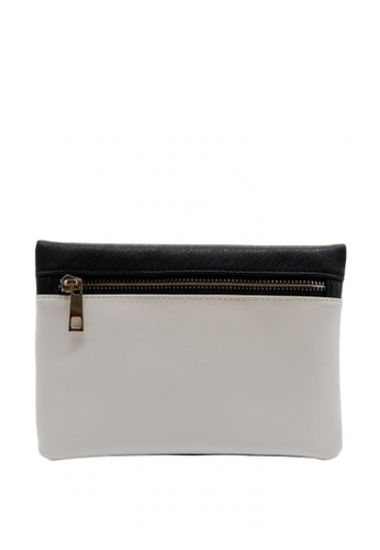 Stylesource black and grey Clutch Pouch SS556A 95450AC2276762GS_1