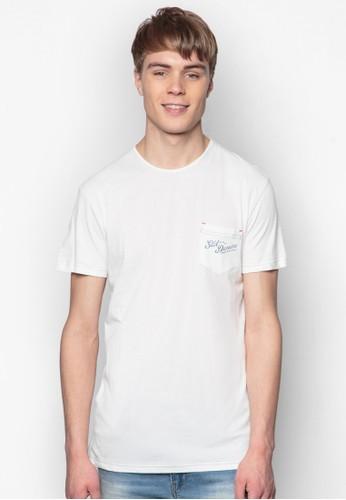 Beaman 文字口esprit outlet 桃園袋TEE, 服飾, 印圖T恤