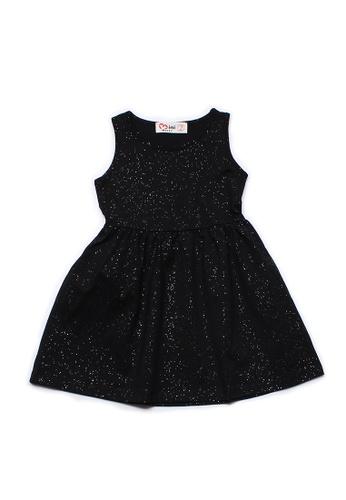 Mini Moley black Glitter Dust Girl's Dress 39630KA2886AD7GS_1