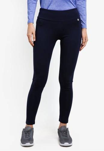 AVIVA blue and navy Long Pants AV679AA0S9GOMY_1