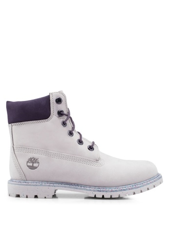 Timberland purple 6 Inch Premium Waterproof Boots 5A74BSHE3C3A41GS_1