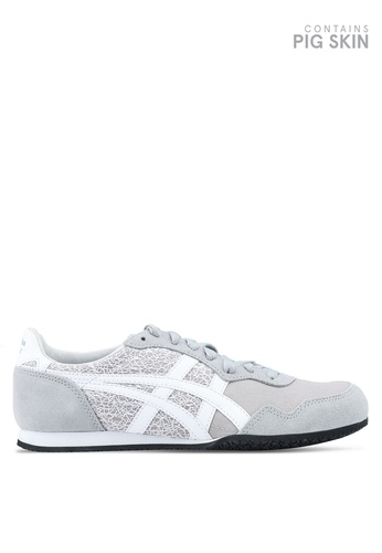 Onitsuka Tiger grey Serrano Shoes ON067SH0SVWJMY_1