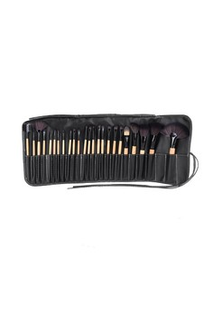 24 Pcs Makeup Brushes With Bag Case