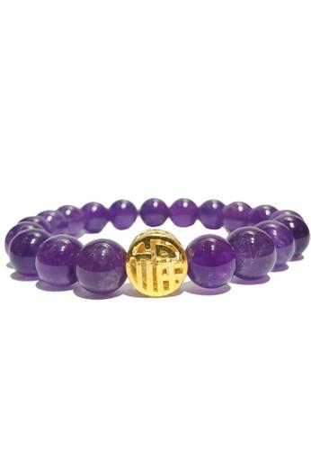 LITZ purple and gold [SPECIAL] LITZ 999 (24K) Gold Blessing Charm EPC0175-B-A EB6DFAC3630AB1GS_1