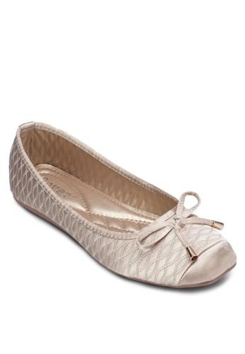 蝴蝶結軟襯平底鞋, 女esprit分店鞋, 鞋
