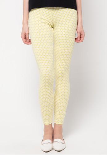 Gaff yellow Legging Laura GA640AA09CJMID_1