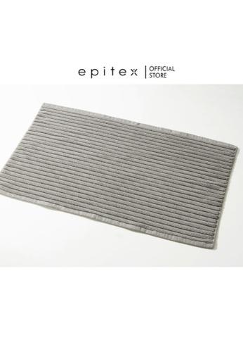 Epitex blue Epitex Cotton Floor Towel - Rug - Carpet (Light Grey) 2ACC2HL3D51D0AGS_1