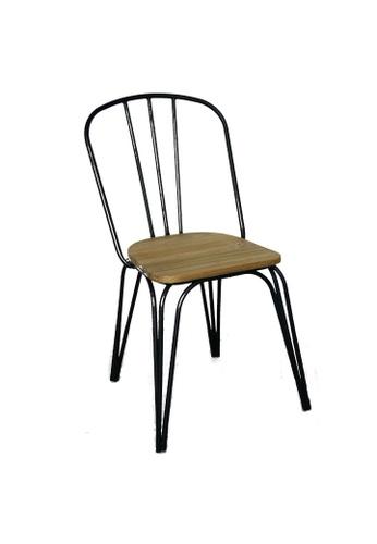 Chic Establishment brown Smyrni Chair 2B4F3HLE747A03GS_1