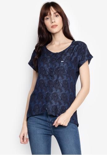 57e79358c403 Shop Wrangler Long Back Printed Tensel Shirt Online on ZALORA Philippines