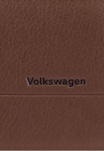 Volkswagen brown Billfold Wallet A04B1AC6A04732GS_1