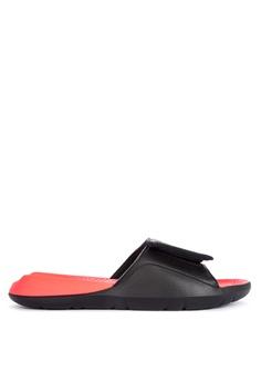 Nike black Men's Jordan Hydro 7 Slides EED64SH6FBF9E9GS_1