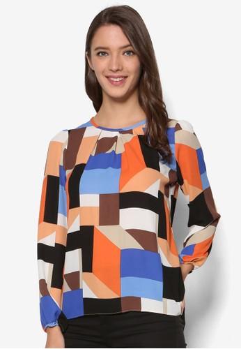 Orange Square Longsleeve Top、 服飾、 服飾DorothyPerkinsOrangeSquareLongsleeveTop最新折價