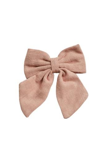 MANGO KIDS pink Bow Hairclip 044C8KCCD36D96GS_1