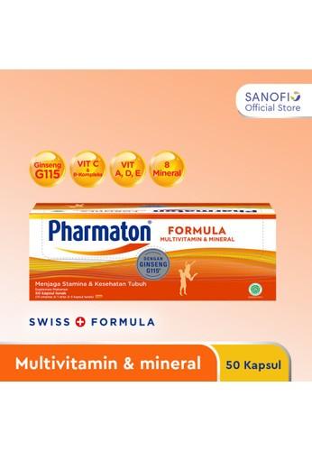 Pharmaton orange Pharmaton Formula 50s - Multivitamin Jaga Stamina dan Kesehatan 09B9EES8817A28GS_1