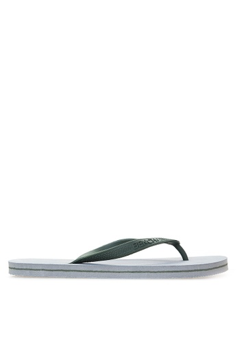BENCH grey Basic Rubber Slippers BE550SH98MBPPH_1