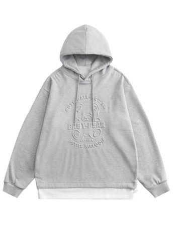Twenty Eight Shoes Oversize Printed Casual Hoodies HH1520 144C6AAC854301GS_1