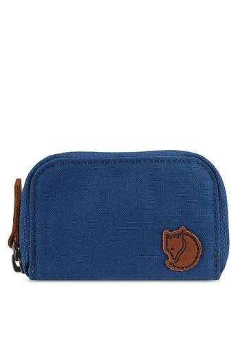 Fjallraven Kanken blue Deep Blue Zip Card Holder FJ382AC0SX8EMY_1
