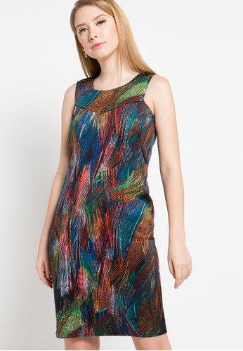 WHITEMODE multi Heidi Dress WH193AA30YQFID_1