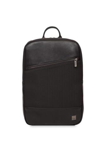 "knomo black Southampton 15.6"" Laptop Backpack (Black) 6576CAC3E854A4GS_1"