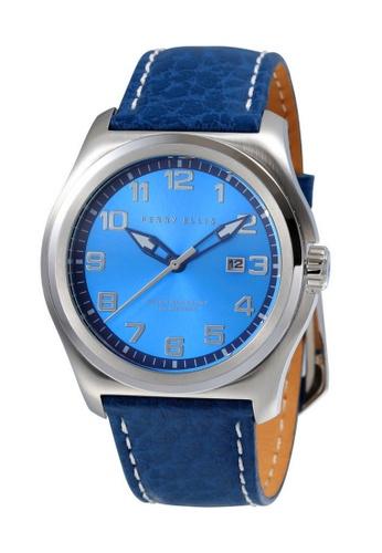 Perry Ellis blue Perry Ellis Memphis Men 44mm Quartz Watch 04009-01 BC9C6AC05E0646GS_1