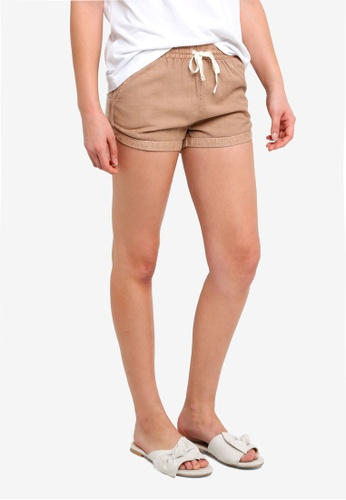 Billabong beige Road Trippin Shorts B90E0AA0BD1344GS_1