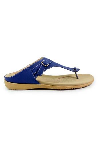 BNC blue and navy Flip-Flop Sandals C69CFSH0FF5DE2GS_1