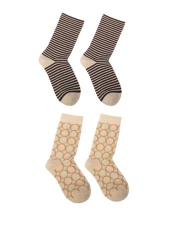 Milliot & Co. 米褐色 Oakley 襪子 C6644AA2C0B086GS_1