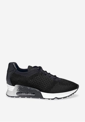 ASH 黑色 Lucky - 黑色網孔編織運動鞋 14477SH32ACE8FGS_1